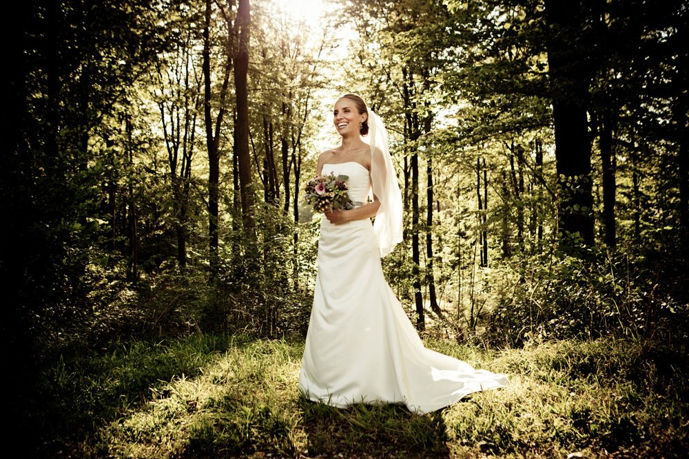bryllupsbillede Korsør