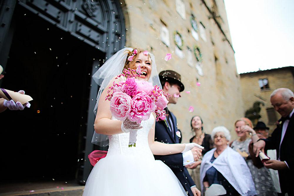 Blomster til brylluppet