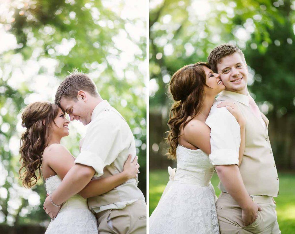bruden og gommen