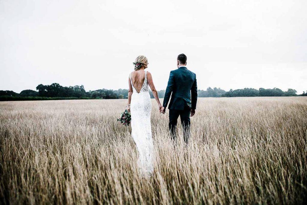 bryllupsbilleder udenfor