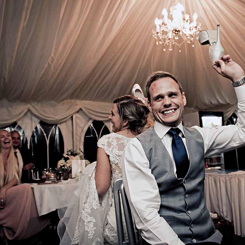 bruden og brudgommen